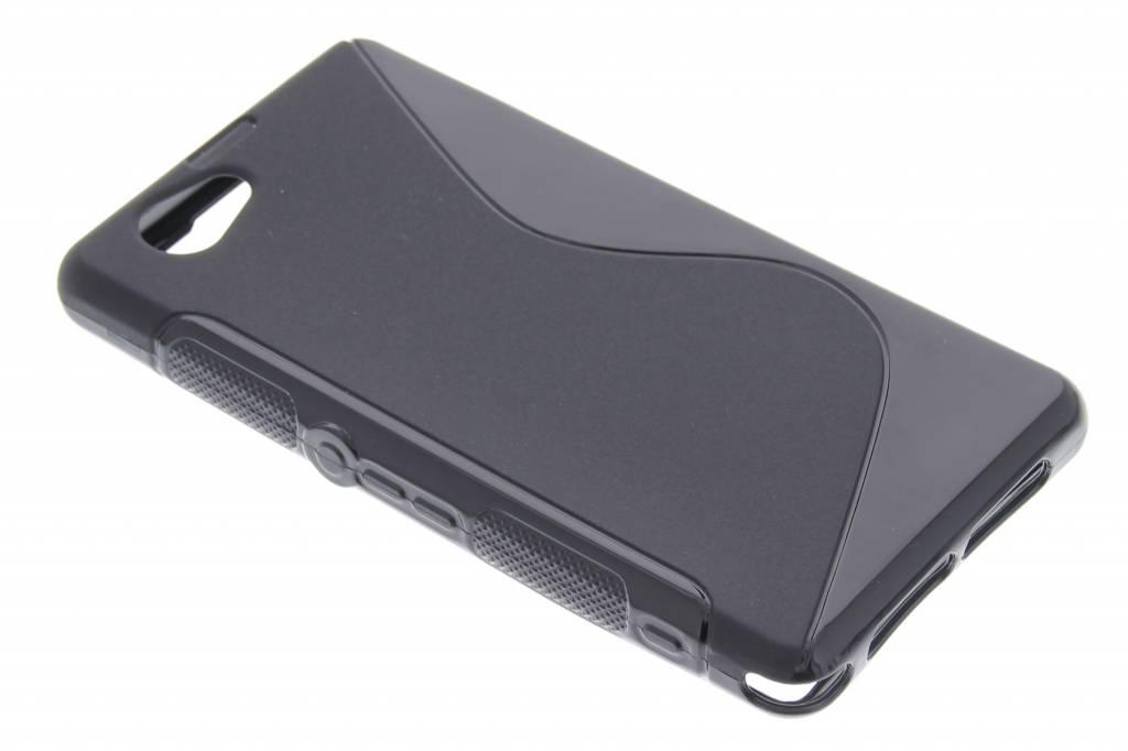 Zwart S-line TPU hoesje voor de Sony Xperia Z1 Compact