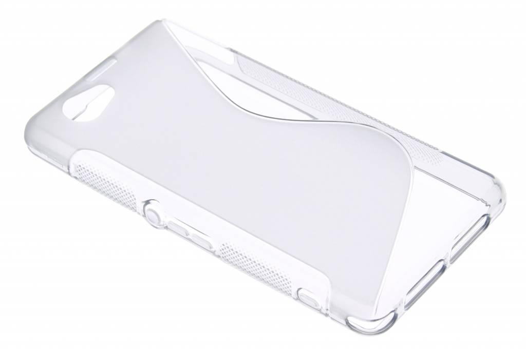 Grijs S-line TPU hoesje voor de Sony Xperia Z1 Compact