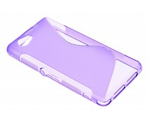 Paars S-line TPU hoesje Sony Xperia Z1 Compact
