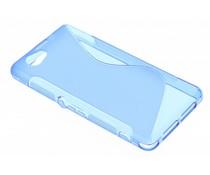 Blauw S-line TPU hoesje Sony Xperia Z1 Compact