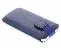 Mobiparts Uni Pouch Smoke maat M - navy blauw