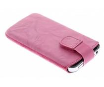 Mobiparts Uni Pouch Smoke maat M - roze