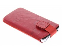 Mobiparts Uni Pouch Smoke maat M - rood