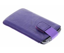 Mobiparts Uni Pouch Smoke maat M - paars