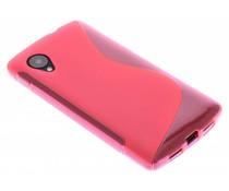 Rosé S-Line TPU hoesje LG Nexus 5