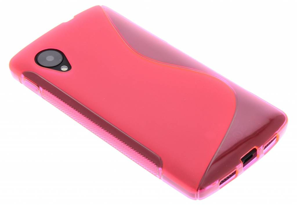 Rosé S-Line TPU siliconen hoesje voor de LG Nexus 5