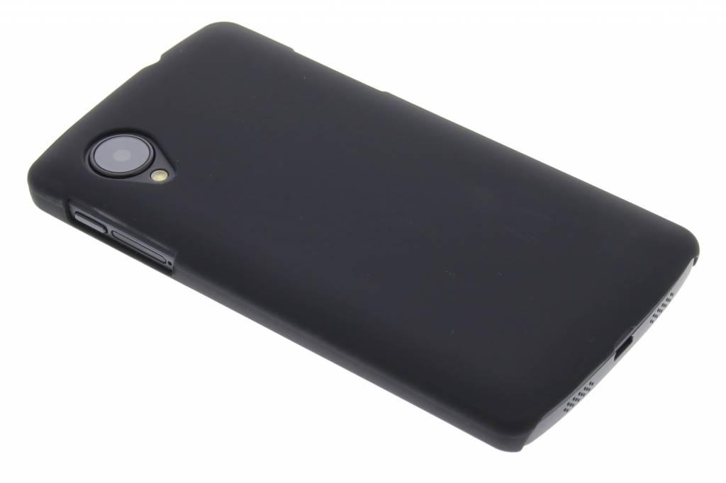 Zwart effen hardcase hoesje voor de LG Nexus 5