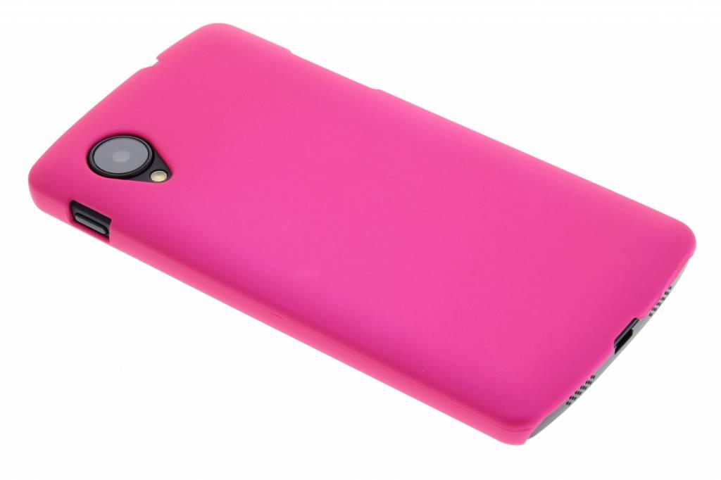 Fuchsia effen hardcase hoesje voor de LG Nexus 5