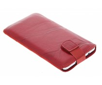 Mobiparts Uni Pouch Smoke maat 4XL - rood