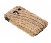Hout design hardcase hoesje Samsung Galaxy Ace 2