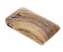 Hout design hardcase hoesje Samsung Galaxy Y