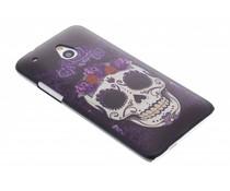 Sugar skull mat hardcase hoesje HTC One Mini