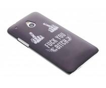 Stoer design mat hardcase hoesje HTC One Mini