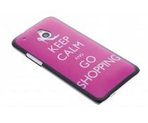 Keep Calm design mat hardcase HTC One Mini