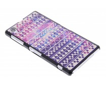 Aztec design mat hardcase Sony Xperia Z1