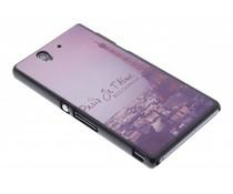 Je t'aime mat hardcase hoesje Sony Xperia Z