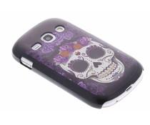 Sugar skull mat hardcase Samsung Galaxy Fame