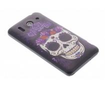 Sugar skull design hardcase hoesje Huawei Ascend G510