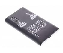 Stoer mat hardcase hoesje LG Optimus L5