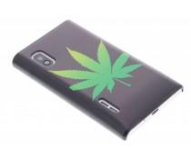 Cannabis mat hardcase hoesje LG Optimus L5