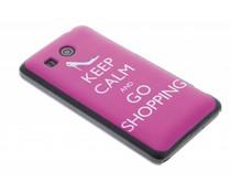 Keep Calm design mat hardcase hoesje Huawei Ascend G525