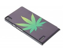 Cannabis design hardcase Huawei Ascend P6 / P6s