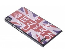 Keep Calm design hardcase Huawei Ascend P6 / P6s
