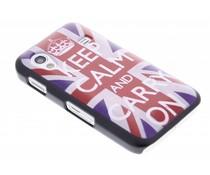Keep Calm design mat hardcase Samsung Galaxy Ace
