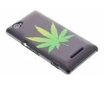 Cannabis mat design hardcase hoesje Sony Xperia M