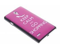 Keep Calm design hardcase hoesje Huawei Ascend G700