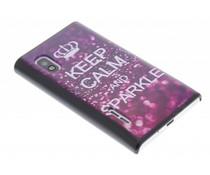 Keep Calm design hardcase hoesje LG Optimus L5