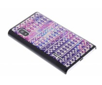 Aztec mat design hardcase hoesje LG Optimus L5