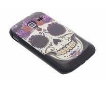 Sugar Skull mat hardcase Samsung Galaxy Ace 2