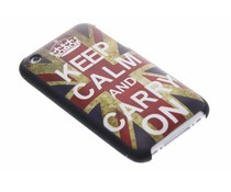 Keep Calm design hardcase hoesje iPhone 3g(s)