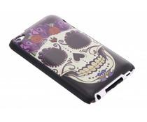 Sugar Skull mat hardcase hoesje iPod Touch 4g