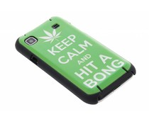 Keep Calm mat hardcase Samsung Galaxy S Plus