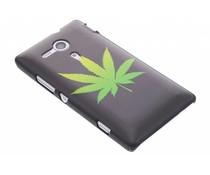 Cannabis mat hardcase hoesje Sony Xperia SP