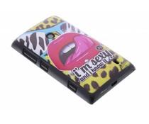 LMFAO mat hardcase Nokia Lumia 520 / 525