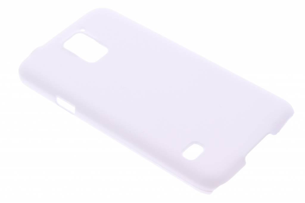 Wit effen hardcase hoesje voor de Samsung Galaxy S5 (Plus) / Neo
