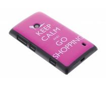 Keep Calm design hardcase Nokia Lumia 520 / 525