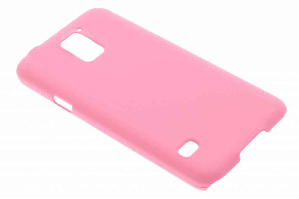 Roze effen hardcase hoesje voor de Samsung Galaxy S5 (Plus) / Neo