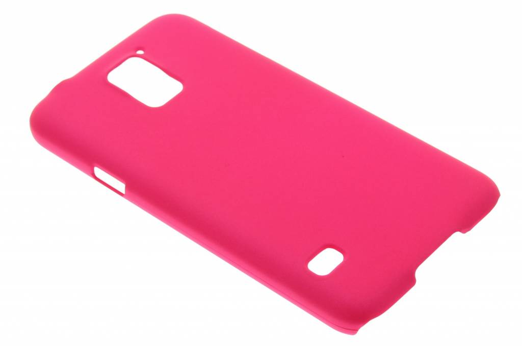 Fuchsia effen hardcase hoesje voor de Samsung Galaxy S5 (Plus) / Neo