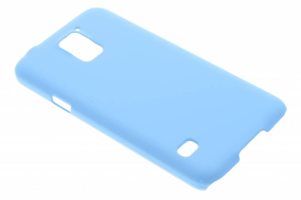 Turquoise effen hardcase hoesje voor de Samsung Galaxy S5 (Plus) / Neo
