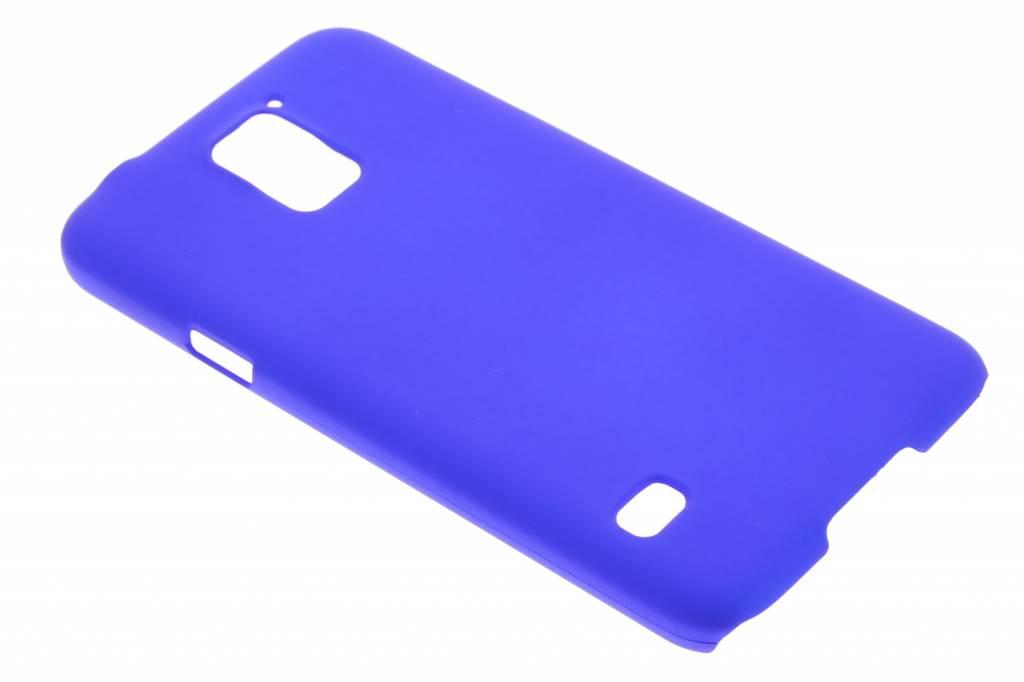 Blauw effen hardcase hoesje voor de Samsung Galaxy S5 (Plus) / Neo
