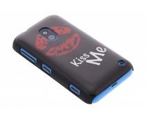 Kiss Me mat hardcase hoesje Nokia Lumia 620