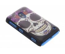 Sugar Skull mat hardcase hoesje Nokia Lumia 620