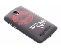 Kiss Me mat hardcase HTC Desire 500
