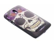 Sugar Skull mat hardcase HTC Desire 500