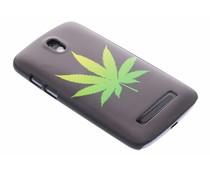 Cannabis mat hardcase HTC Desire 500