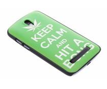 Keep Calm design hardcase HTC Desire 500